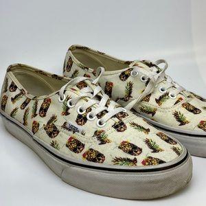Vans pineapple skulls sneakers